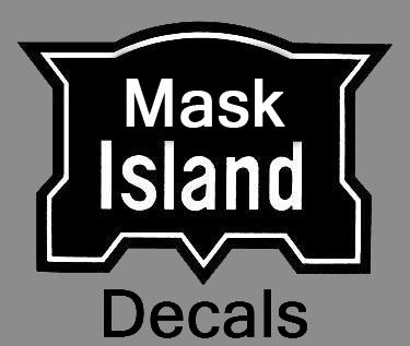 Mask Island Decals
